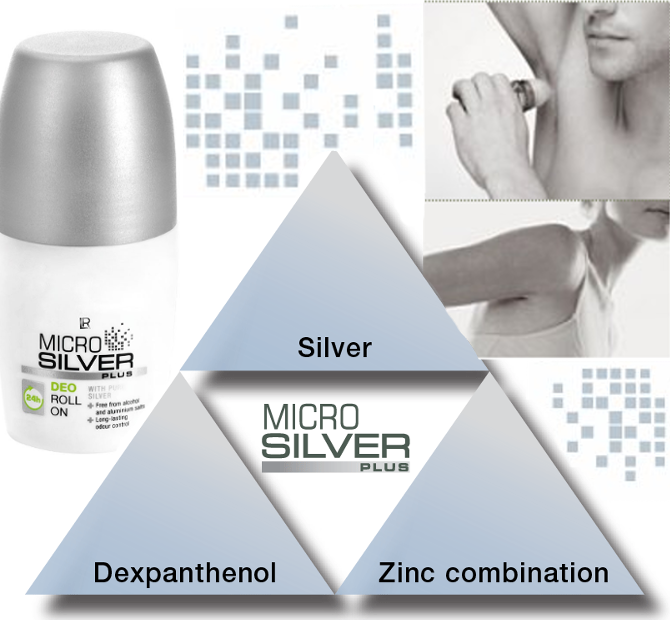 MICROSILVER PLUS: DEO ROLL ON WITH PURE SILVER POWDER ANTIBACTERIAL 50ml